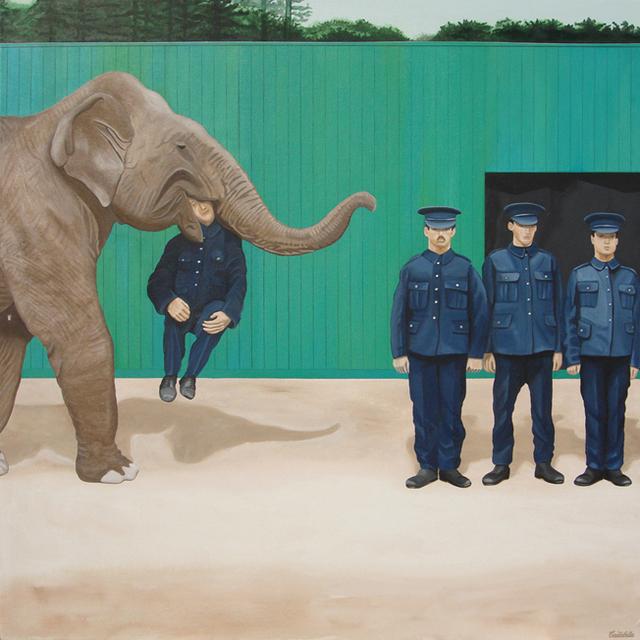 , 'Enlisted Man,' 2012, Kreislerart