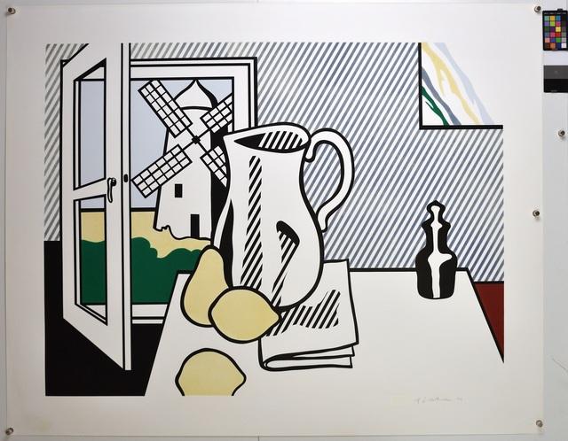 Roy Lichtenstein, 'Still Life with Windmill', 1974, Lougher Contemporary