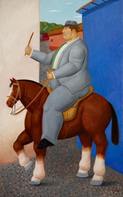 , 'Hombre a caballo,' 2015, Fernando Pradilla/El Museo