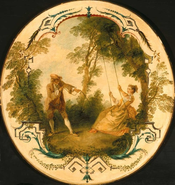 Nicolas Lancret, 'The Swing', ca. 1724, Indianapolis Museum of Art at Newfields