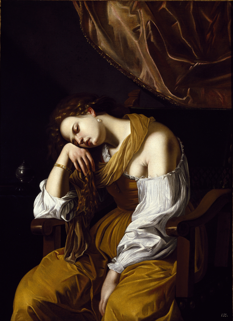 , 'Mary Magdalene as Melancholy,' , Museo Soumaya