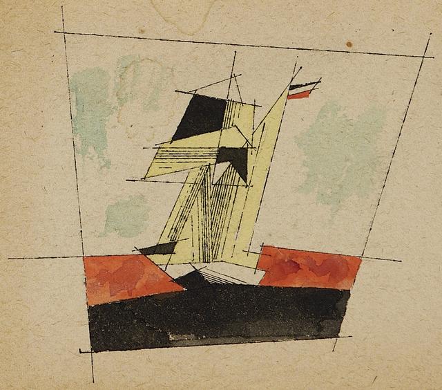 Lyonel Feininger, 'Untitled (Sailing Ship)', ca. 1934, Moeller Fine Art