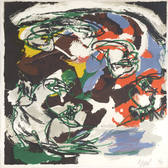 Karel Appel, 'Tempete. no 2 - Storm. Paysages Humains.', 1961, William Weston Gallery Ltd.