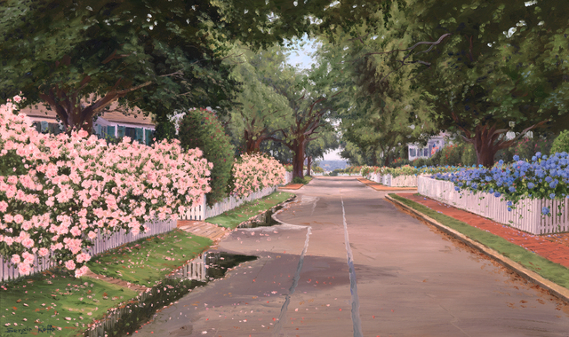 Sergio Roffo, 'Cottage Street Roses', Active Contemporary , The Edgartown Art Gallery, Inc.