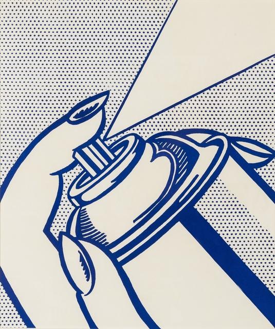 Roy Lichtenstein, 'Spray Can (Corlett 34)', 1964, Forum Auctions