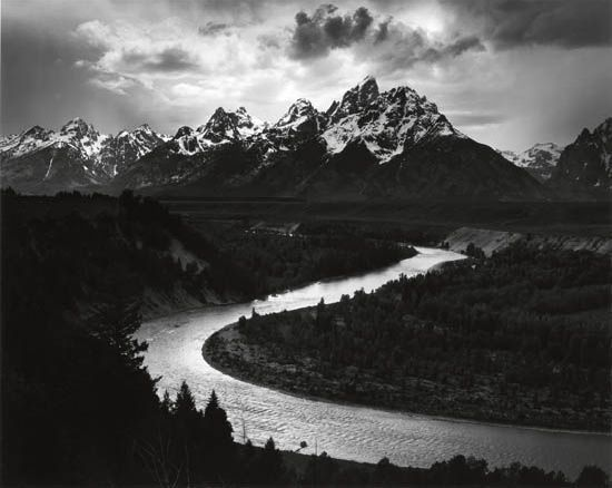 , 'Tetons and Snake River, Grand Tetons National Park,' 1942, Weston Gallery
