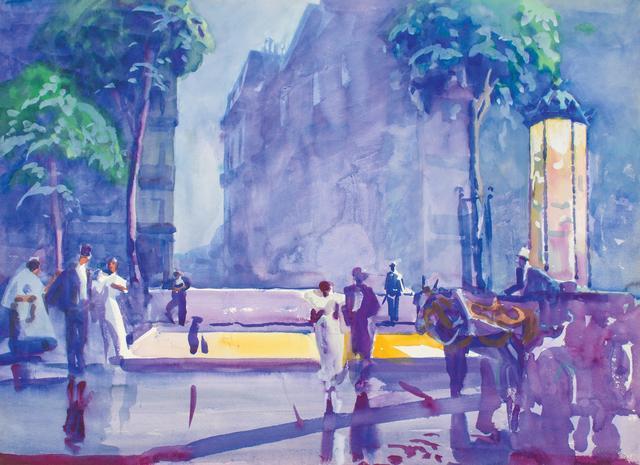 , 'Rainy Paris,' ca. 1926, WOLFS