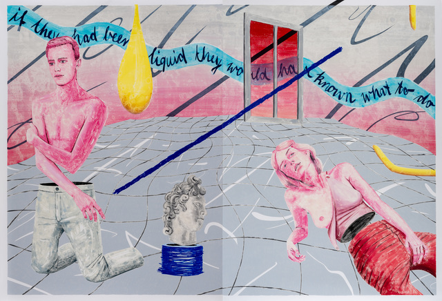 Marion Fink, 'If they had been liquid, they would have known what to do: They would just have merged.', 2019, Evelyn Drewes Galerie