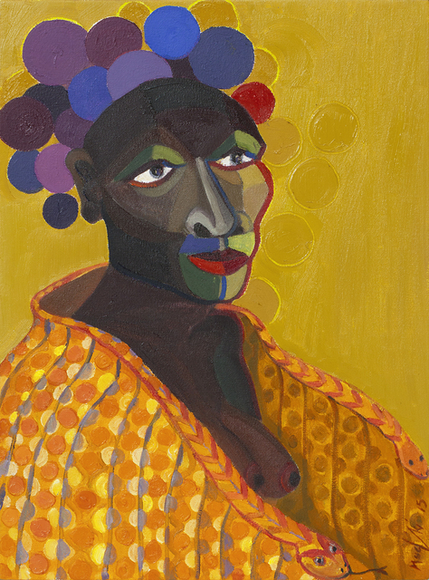 , ''The Bridesmaid',' 2015, Johans Borman Fine Art