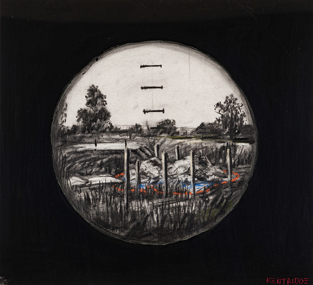 William Kentridge, 'Drawing from Felix in Exile', 1994–2001, Strauss & Co