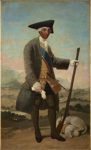 , 'Charles III in Hunting Dress,' 1786-1788, The National Gallery, London