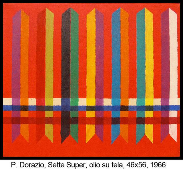 , 'Sette super,' 1966, Centro Steccata