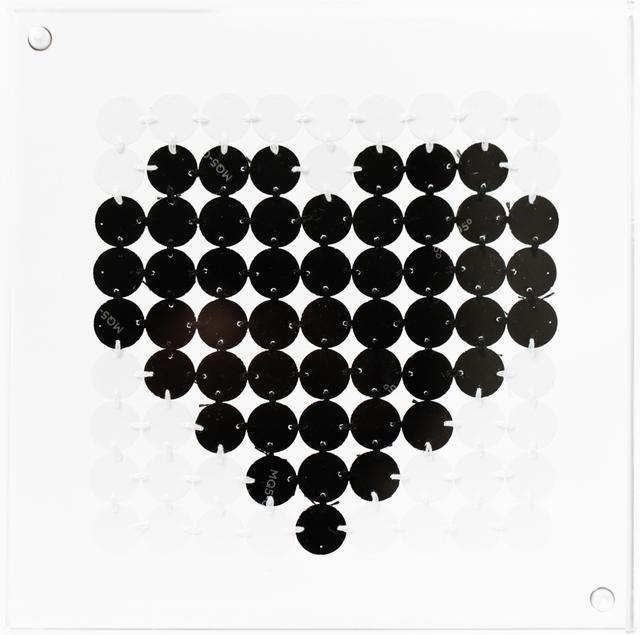 , 'Bitty Black Heart,' 2016, Paradigm Gallery + Studio