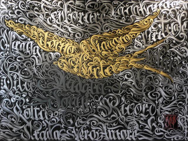 , 'The journey of the swallow,' 2015, Galleria Quadrifoglio