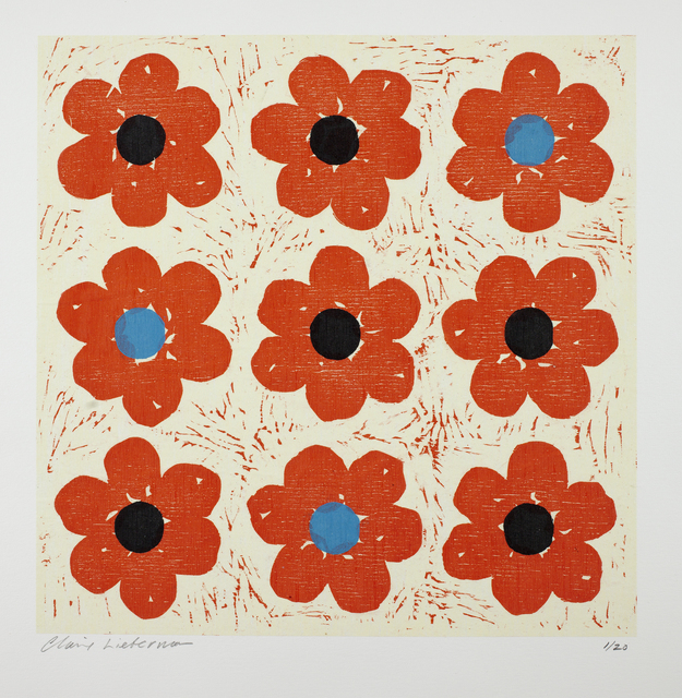 , 'Poppies Tic Tac Toe,' 2003, Massey Lyuben Gallery