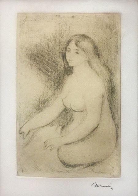 Pierre-Auguste Renoir, 'BAIGNEUSE ASSISE', 1919, Gallery Art