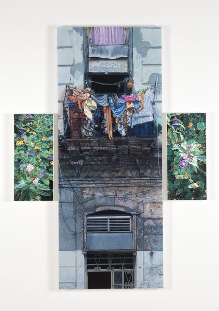 , 'Laundry Day in Paradise,' 2015, Nancy Hoffman Gallery