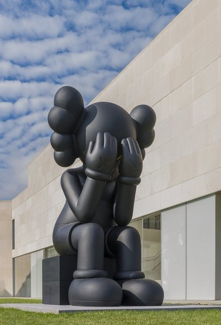 KAWS, 'Passing Through (Black)', 2013, Sculpture, Vinyl, Dope! Gallery