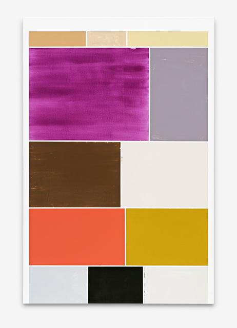 Ronald de Bloeme, 'Kaiserleuchte II (Google)', 2019, Painting, Matte and high-gloss lacquer on canvas, BorzoGallery