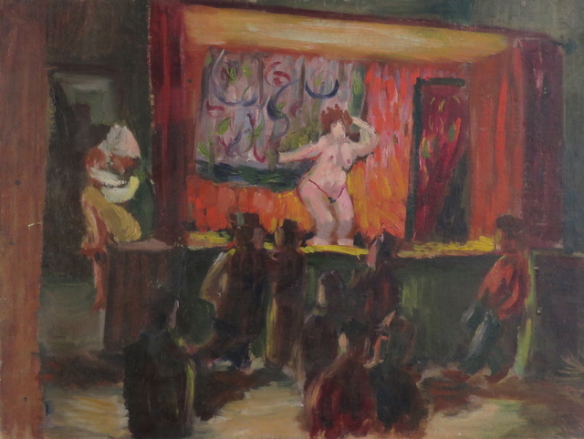 , 'Burlesque,' ca. 1950, Bakker Gallery