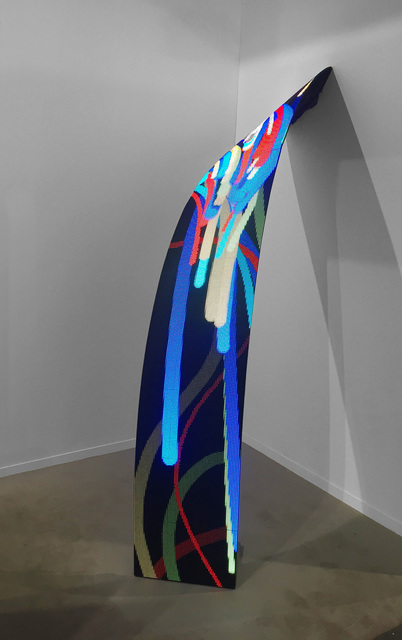 , 'Surge II,' 2018, bitforms gallery