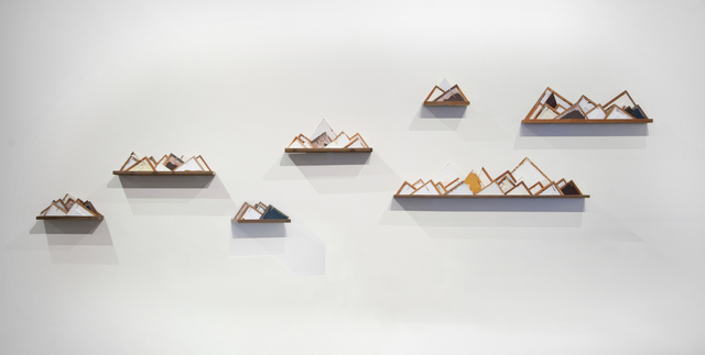 Evan Blackwell, 'Islands in the Sky', 2014, Sculpture, Wood, Foster/White Gallery