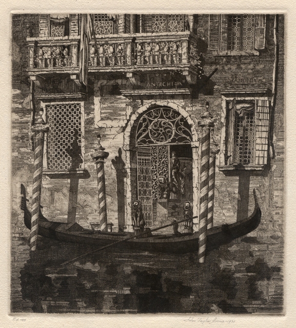 , 'Palazzo dell'Angelo,' 1931, Conrad R. Graeber Fine Art