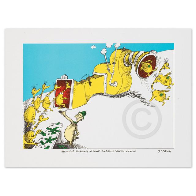 Dr. Seuss, 'Sylvester McMonkey McBean', 1999, Huckleberry Fine Art