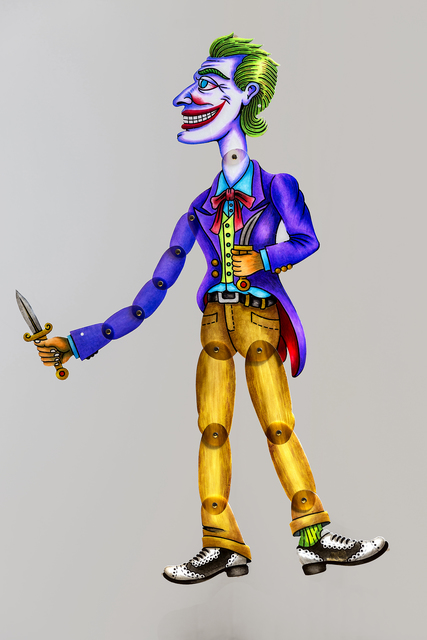 Spyros Aggelopoulos, 'Joker', 2018, Dio Horia
