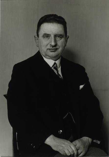 August Sander, 'Pharmacist, 1926', Galerie Julian Sander