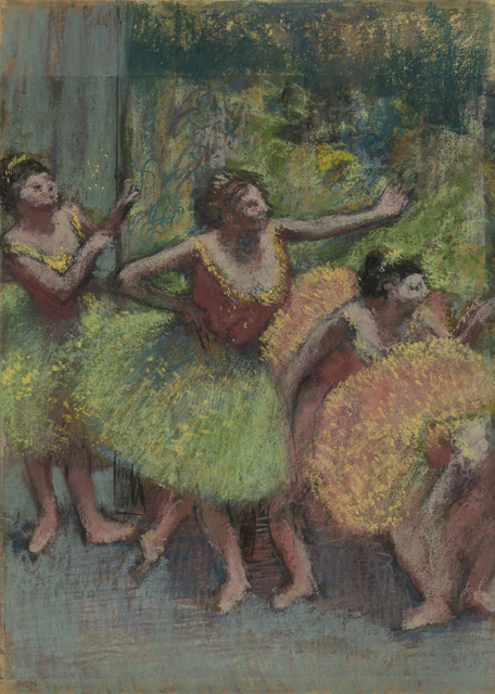 , 'Dancers in Green and Yellow,,' ca.1903, Guggenheim Museum