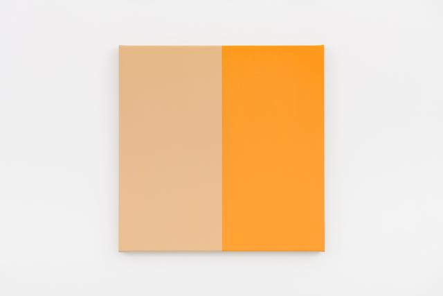 Steven Aalders, 'Two Halves (Beige, Yellow)', 2018, Walter Storms Galerie