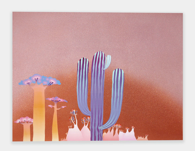 , 'Cactus Practice ,' 2017, UTA Artist Space