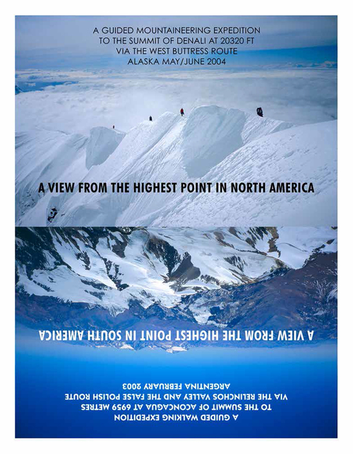 , 'A VIEW FROM THE HIGHEST POINT IN NORTH AMERICA Edition 39/50,' , Josée Bienvenu