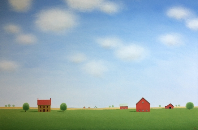 Sharon France, 'The Quiet of the Farm', 2018, UGallery