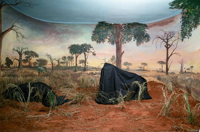 Kiluanji Kia Henda, 'In the Days of a Dark Safari #4', 2017, Photography, Inkjet print on cotton paper, Goodman Gallery
