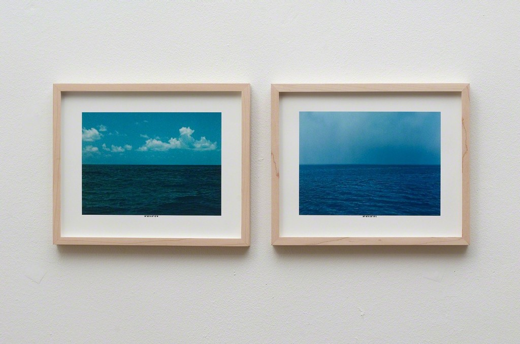 Christoph Girardet, Seascapes, Inktjet prints. 2013