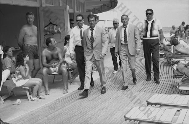 , 'Frank Sinatra on the Boardwalk, 1968,' 1968, Hilton Asmus