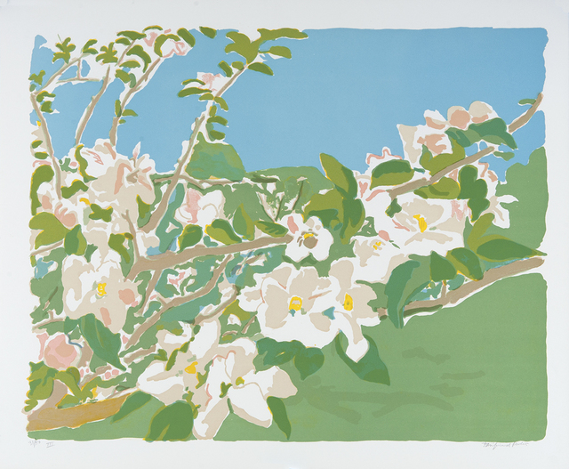, 'Apple Blossoms III,' 1974, Dowling Walsh