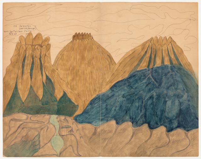 , 'CS Valentin Crater,' 1987, Ricco/Maresca Gallery