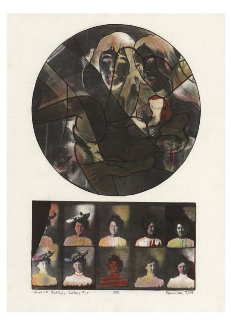 , '14 or 15 Buffalo Ladies #1C,' 1969, Rhona Hoffman Gallery