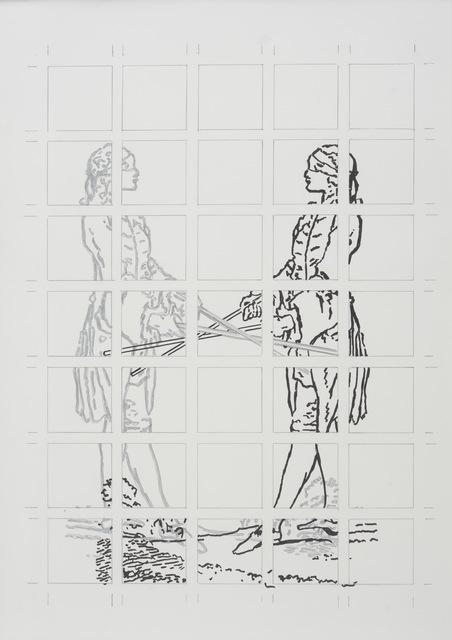 , 'Blindsehen - 02,' 2009, Galerie Judith Andreae