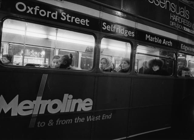 Daido Moriyama, 'London (Oxford street bus)', 2001-2004, Michael Hoppen Gallery