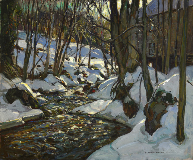 William Lester Stevens, 'Below the Mill', Painting, Oil on canvas, Avery Galleries
