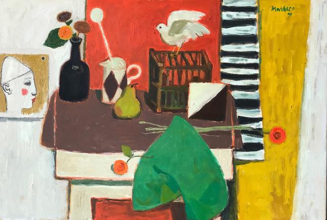 , 'Still Life with White Bird,' 1991, The Scottish Gallery