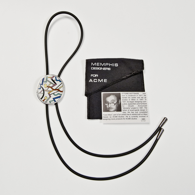 , 'Circulus Bolo Tie,' 1985, The Modern Archive