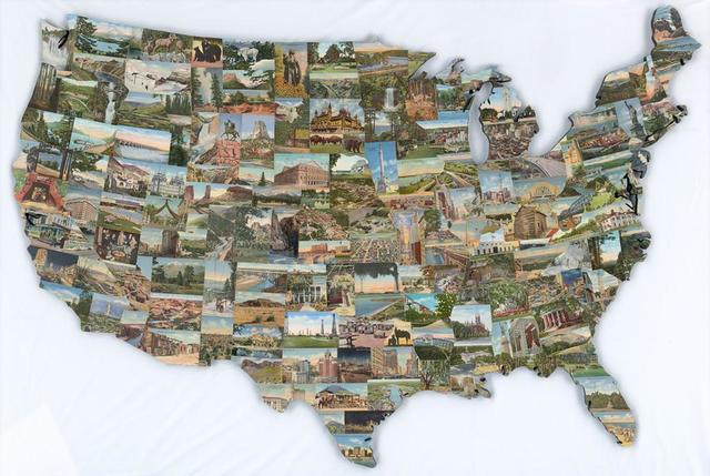 , 'See the USA,' 2010, Vertu Fine Art