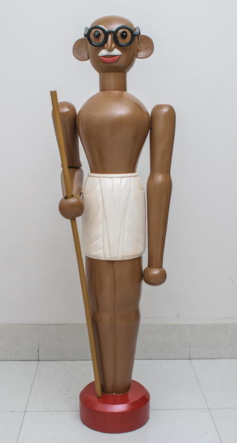 , 'Toy Gandhi 3 (Toy Soldier),' 2019, Aicon Gallery