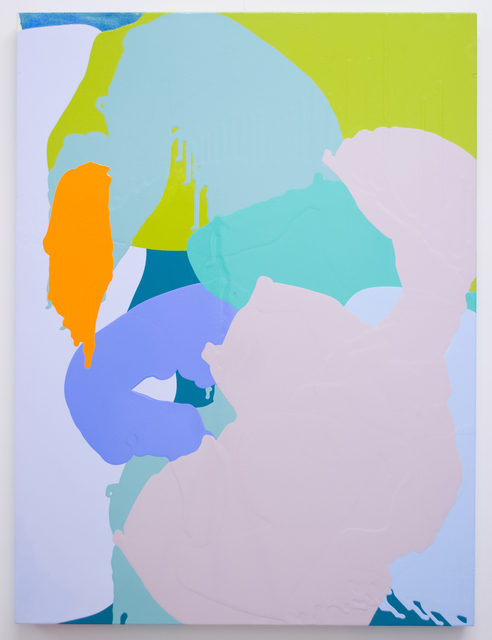 , 'Orange Splat,' 2012, Morgan Lehman Gallery