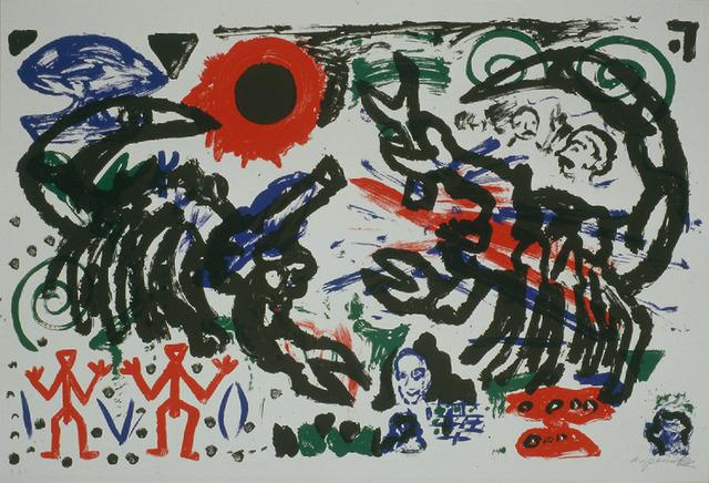 A.R. Penck, 'Ohne Titel', 1987, Galerie Fahnemann